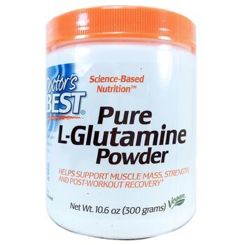 Купить Doctor's Best Pure L-Glutamine Powder 300 g