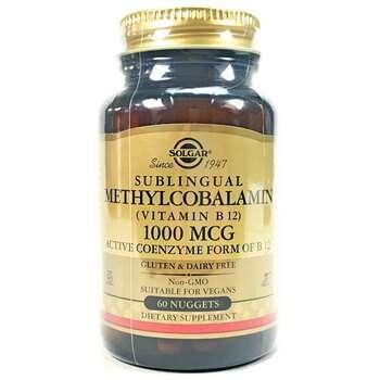 Купить Solgar Sublingual Methylcobalamin Vitamin B12