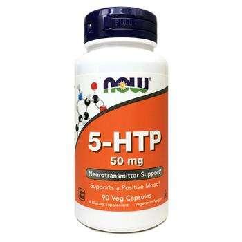 Купить Now Foods 5 HTP 50 mg 90 Veg Capsules