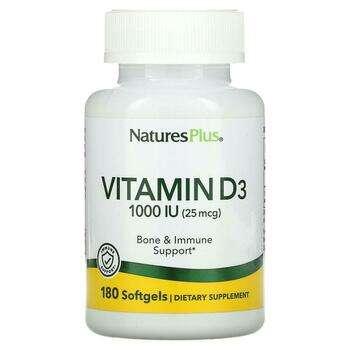 Купить Vitamin D3 1000 IU 180 Softgels