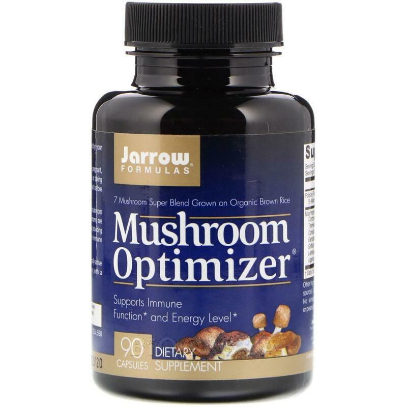 Смесь из 7 видов грибов выращенных на органическом коричневом ... фото товара