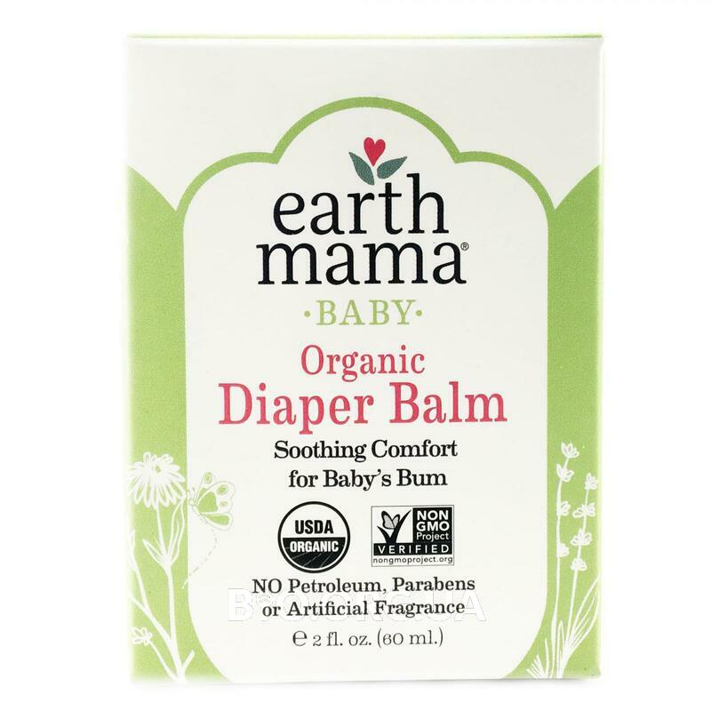 Earth Mama Baby Organic Diaper Balm  60 ml