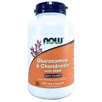 Купить Glucosamine & Chondroitin with MSM 180 Capsules ( Глюкозамін і...