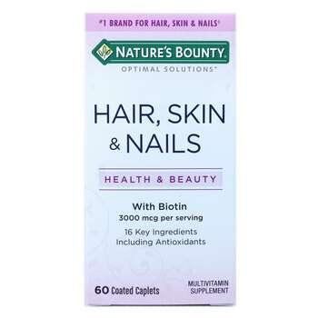 Купить Nature's Bounty Hair Skin Nails 60 Coated Caplets