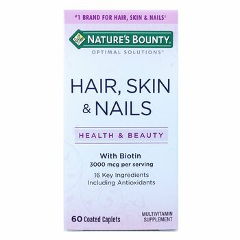 Купить Nature's Bounty Hair Skin Nails 60 Coated Caplets