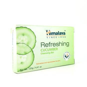 Купить Himalaya Refreshing Cleansing Bar Cucumber 125 g
