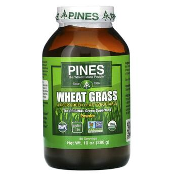 Купить Pines International Wheat Grass Powder 280 g