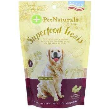 Купить Pet Naturals of Vermont Superfood Treats for Dogs Peanut Butte...