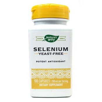 Купить Nature's Way Selenium 200 mcg 100 Capsules