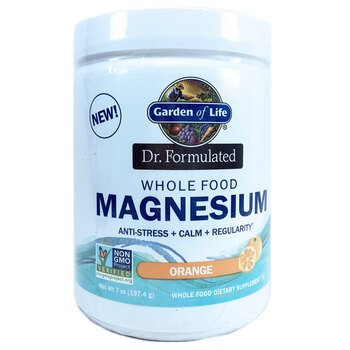 Купить Dr. Formulated Whole Food Magnesium Powder Orange 197.4 g ( Ха...