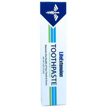 Купить Life Extension Toothpaste Natural Mint Flavor 113.4 g