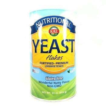 Купить KAL Nutritional Yeast Flakes Unsweetened 624 g