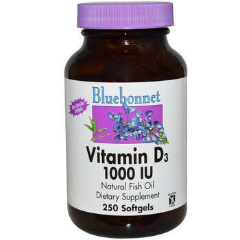 Купить Vitamin D3 1000 IU 250 Softgels