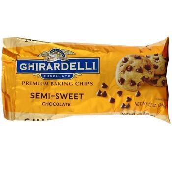 Купить Ghirardelli Premium Baking Chips Semi Sweet Chocolate 340 g