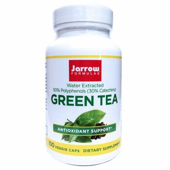 Купить Jarrow Formulas Green Tea 500 mg 100 Capsules