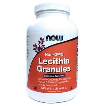 Купить Now Foods Lecithin Granules Non GMO 454 g