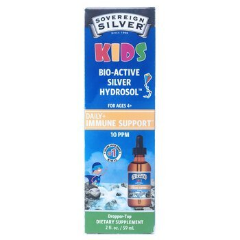 Купить Sovereign Silver Bio-Active Silver Hydrosol For Kids Daily Imm...