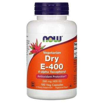 Купить Dry E 400 Vegetarian 100 Veggie Caps