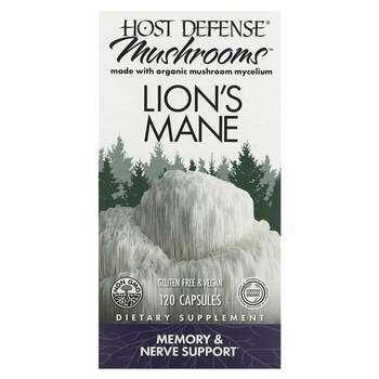 Купить Host Defense Mushrooms Lion's Mane 120 Capsules