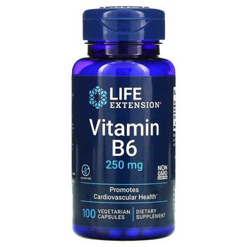 Купить Life Extension Vitamin B6 250 mg 100 Veggie Caps