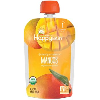 Купить Happy Family Baby Food Mangos 4 + Months 3 99 g