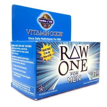 Купить Vitamin Code Raw One Once Daily Raw Multi Vitamin For Men 75 V...