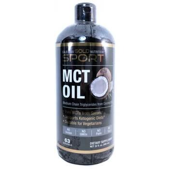 Купить Масло California Gold Nutrition Sport MCT 946 мл