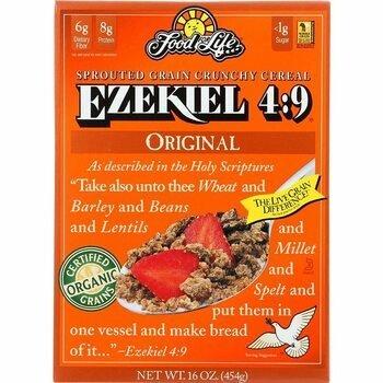 Купить Food For Life Ezekiel 4:9 Sprouted Whole Grain Cereal Original...