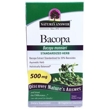 Купить Bacopa 500 mg 90 Veggie Caps