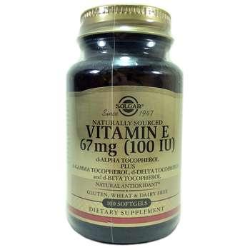 Купить Vitamin E 100 IU 100 Softgels