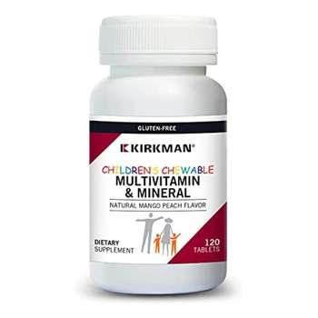 Купить Kirkman Children's Chewable Multi-Vitamin/Mineral Wafers with ...