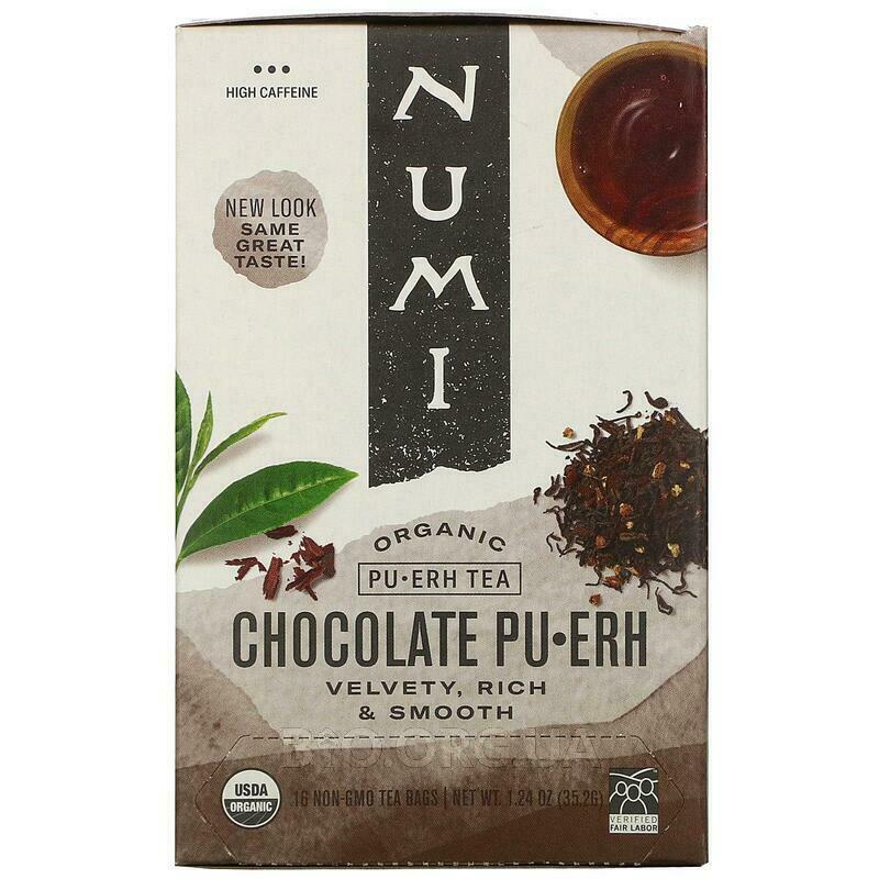 Органический чай Pu • Erh Tea Chocolate Pu • Erh 16 чайных пак... фото товара