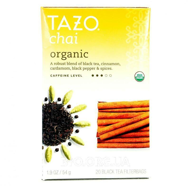 Тазо органический черный чай 20 пакетиков 54 г фото товара