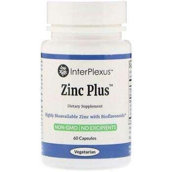 Купить InterPlexus Inc. Zinc Plus 60 Capsules
