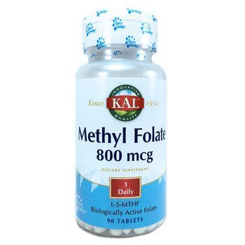 Купить Methyl Folate 800 mcg 90 Tablets ( метілфолат 800 мкг 90 табле...