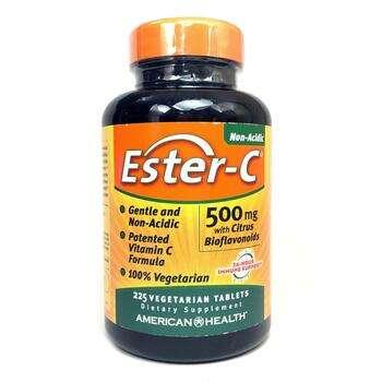 Купить American Health Ester-C 500 mg with Bioflavonoids 225 Tablets