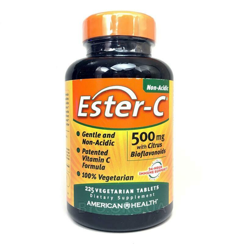 Эстер-C 500 мг с Биофлавоноидами цитрусовых 225 таблеток фото товара