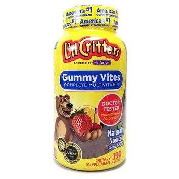 Купить Gummy Vites Complete Multivitamin Zinc 1.4 mg 190 Gummies ( Му...