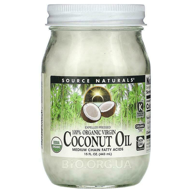 Нерафинированое масло кокоса 443 мл фото товара