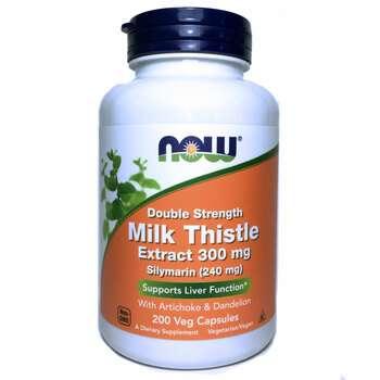 Купить Now Foods Silymarin 300 mg 200 Capsules