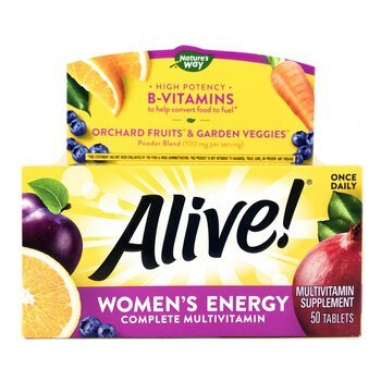 Купить Nature's Way Alive Women's Energy Multivitamin Multimineral 50...