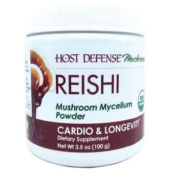 Купить Fungi Perfecti Reishi Mushroom Mycelium Powder Cardio & Longev...