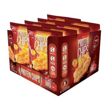Купить Quest Nutrition Protein Chips BBQ Flavor 8 Bags 1 1 32 g Each