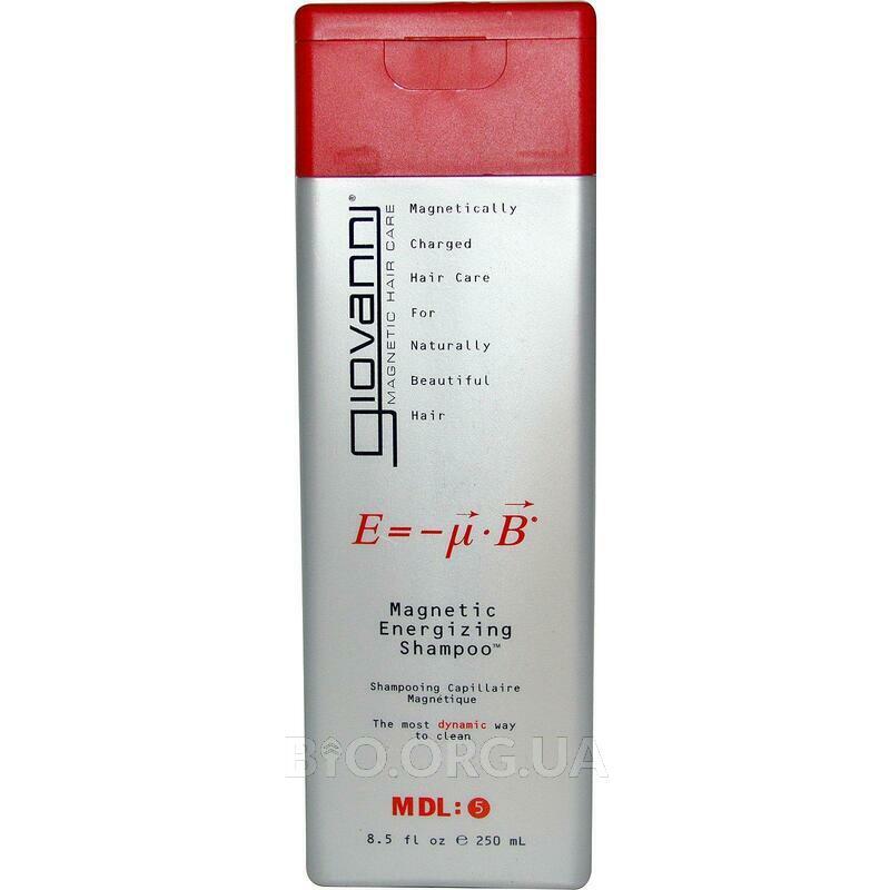 Джованни Магнитный шампунь заряжающий волосы энергией 250 мл фото товара