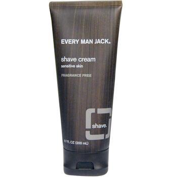 Купить Every Man Jack Shave Cream Sensitive Skin Fragrance Free 200 ml