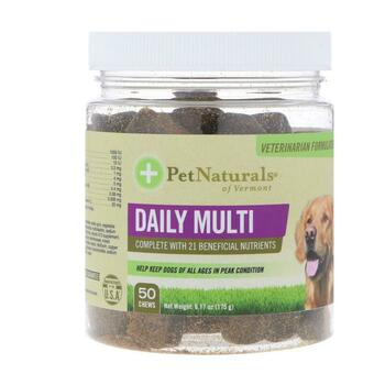 Купить Pet Naturals of Vermont Daily Multi For Dogs 50 Chews 175 g