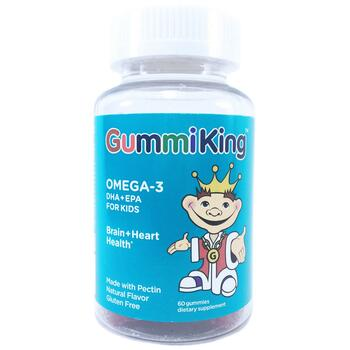 Купить Gummi King Omega-3 DHA & EPA for Kids 60 gummies