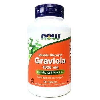 Купить Now Foods Graviola Double Strength 1000 mg 90 Tablets