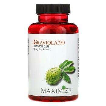 Купить Maximum International Graviola 750 100 Veggie Caps