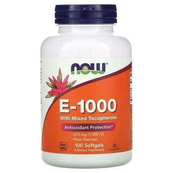 Купить E-1000 100 Softgels